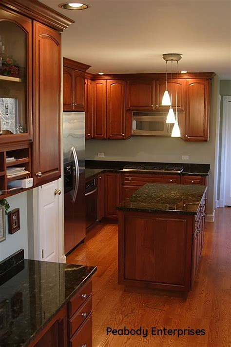 1000 ideas about cherry wood kitchens on corner stove cherry kitchen and built in
