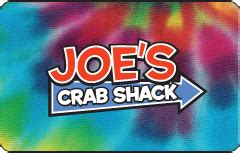 Joes Crab Shack Gift Card - joe s crab shack gift card