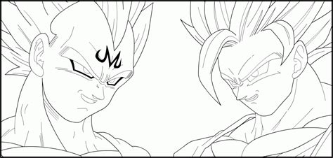 coloring pages vegeta and goku az coloring pages