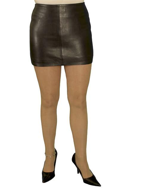 Black Mini Skirt By Tout Coup black tight leather mini skirt luxury soft
