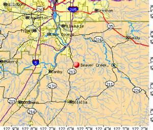 beavercreek oregon map beaver creek oregon or 97045 profile population maps