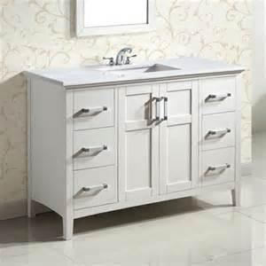 Ellenbee White Vanity Simpli Home Nl Winston Sw 48 2a Winston 48 Quot Bath Vanity