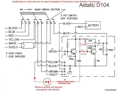 astatic 636l 4 pin wiring diagram amazing astatic microphones wiring diagram contemporary