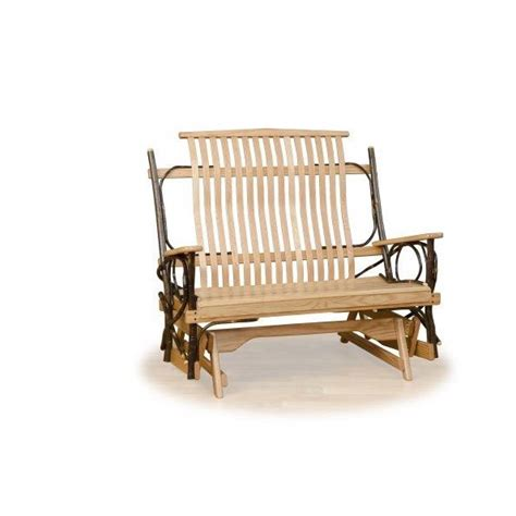 hickory glider amish crafted furniture
