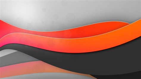 Hd 14 Grey Orange gray and orange waves wallpaper 14380