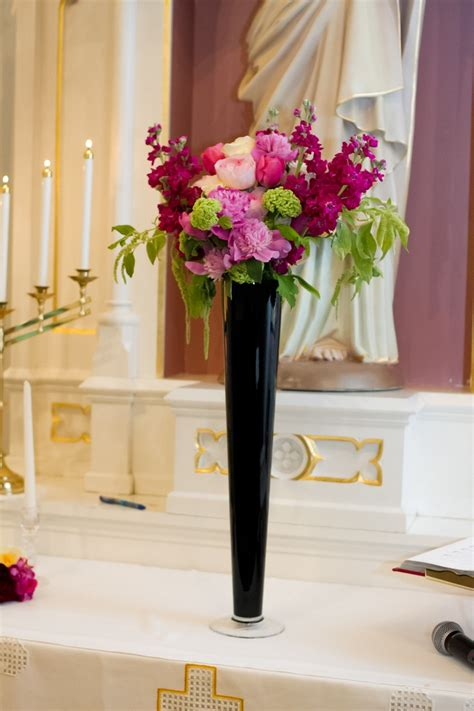 52 Best Images About Black Glass Vases On Pinterest Black Vases For Wedding Centerpieces