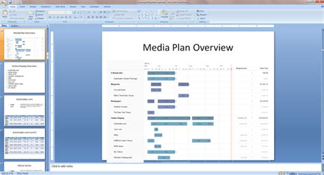 Create Persuasive Media Plan Powerpoints With Bionic Planner Bionic Advertising Systems Advertising Media Plan Template