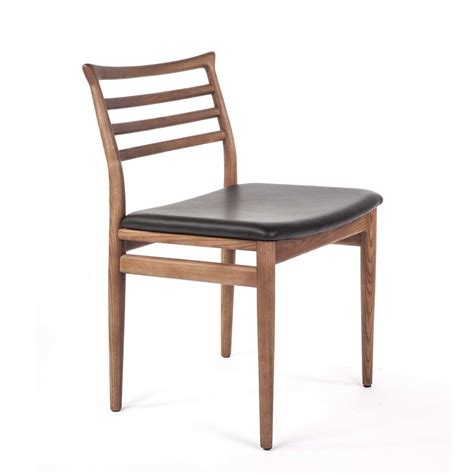 style dining chairs ebay midcentury style ladder back wooden dining chair ebay