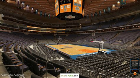 section 109 madison square garden madison square garden seating chart section 110 view