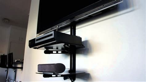 Wall Bracket For Tv With Shelf av shelf shelf wall mounting bracket tv shelf