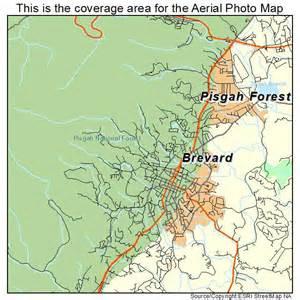 map of brevard carolina aerial photography map of brevard nc carolina