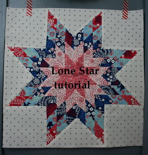 Lone Quilt Tutorial by Lone Block Tutorial Hopeful Homemaker
