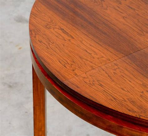 round extendable rosewood dining table by alfred hendrickx round extendable dining table by alfred hendrickx for