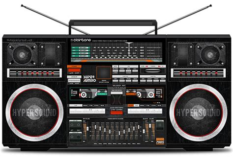 thislooksgreatnet personal project illustration  clairtone  boombox ghetto blaster