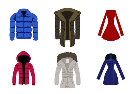 clothes pattern vector free winter coat vector download free vector art stock