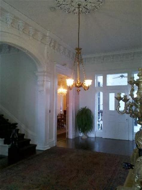 Floor Plan White House Entry Way Inside The Front Door Picture Of Nottoway