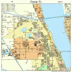 cocoa florida map cocoa florida map 1213150