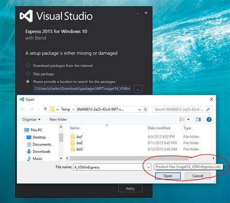 how to install and setup visual studio express 2013 9 steps how to install visual studio 2015 express for windows
