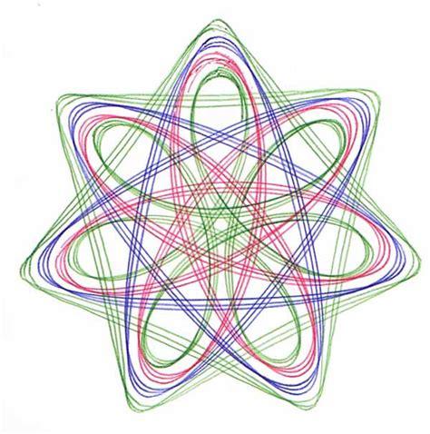 Spirograph Pattern Drawing Design seven pointed spirograph designs spirographicart