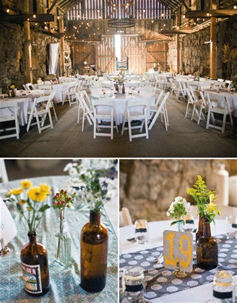 rustic wedding reception centerpieces 8 modern rustic reception ideas wedding decorations