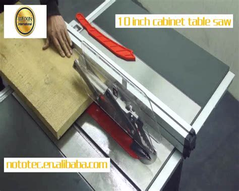 10 inch cabinet table saw 10 inch cabinet sliding table saw machine wood cutting