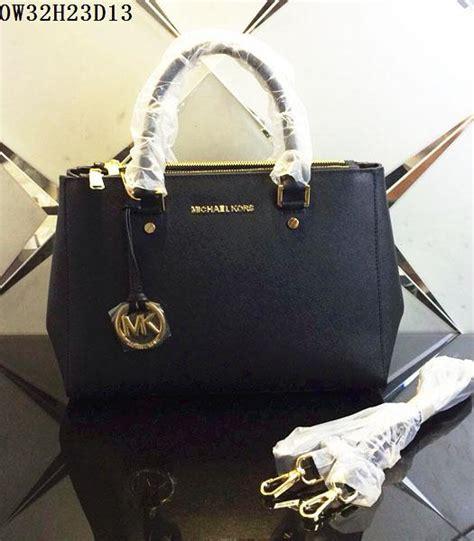 M Hael Kors Black Tote Bag Replika michael kors design black leather tote bag
