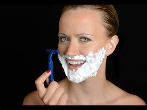 stop womens chin hair growth how to stop facial hair growth in women youtube