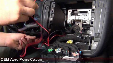 gm aftermarket rear camera install youtube