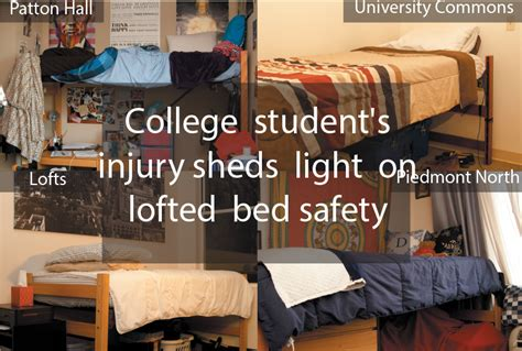 bunk bed fracture college student s injury sheds light on lofted bed safety