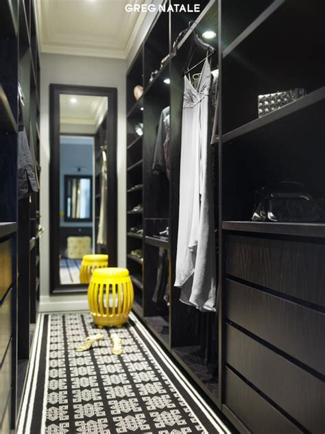 Black Closet by Black Built In Cabinets Closet Greg Natale