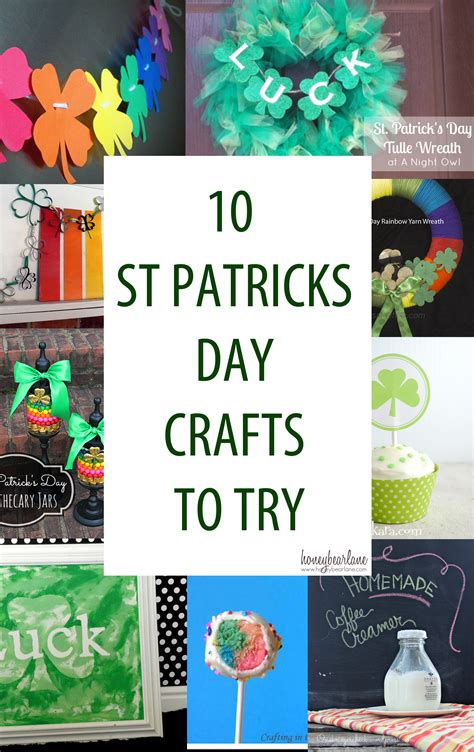 patricks day crafts 10 st patricks day crafts to try