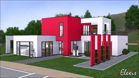 Ultra Modern Houses mod the sims quot strawberry sundae quot modern european loft