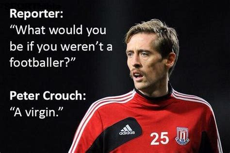 Peter Crouch Meme - football quotes on twitter quot classic peter crouch http
