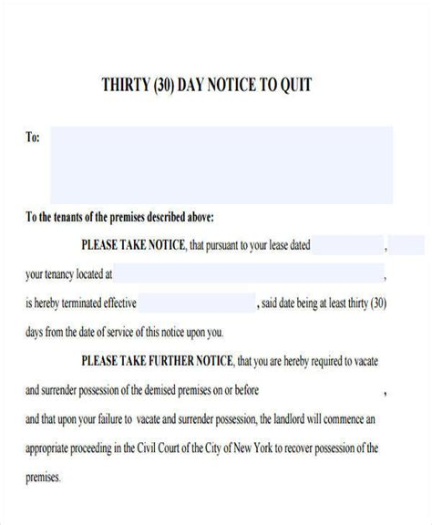 what is a section 146 notice 32 eviction notice templates