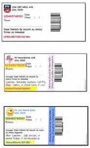 Prescription Bottle Label Template by Printable Pill Bottle Labels Quotes