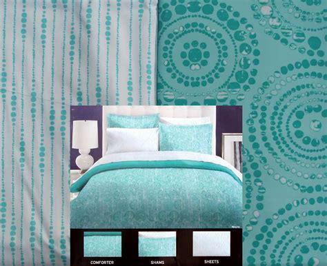 aqua blue bedding perry ellis pea pearls aqua blue twin comforter sheets