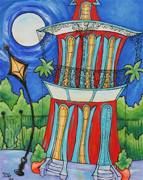 paint with a twist new orleans melanie douthit studio new funky new orleans