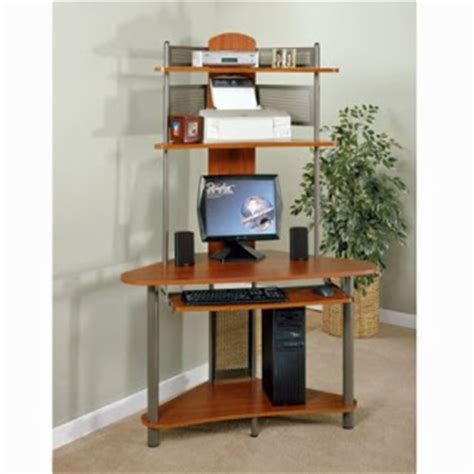 tower corner computer desk with hutch cath easy wood corner desk plans wood plans us uk ca