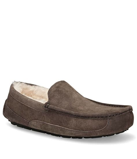 men bedroom slippers ugg 174 men s ascot slippers dillards