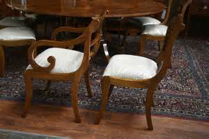 Duncan Phyfe Dining Chairs Duncan Phyfe Dining Chairs Solid Mahogany Rock Solid