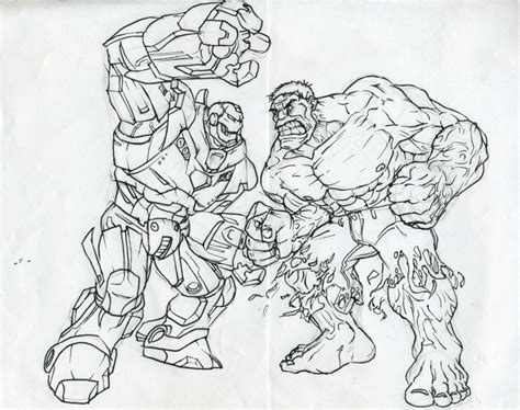 avengers hulkbuster coloring pages hulk coloring pencil iron man hulkbuster vs pages grig3 org