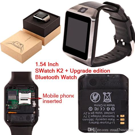 Smart K2 Smartwatch K2 Headset Bluetooth Black Edition best swatch k2 bluetooth upgrade edition mobile