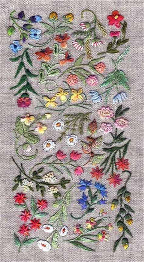 embroidery design kits pretty surface embroidery kits perfect for learning