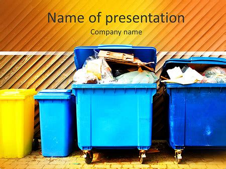 Waste Management Powerpoint Template by Powerpoint Templates Free Waste Gallery Powerpoint
