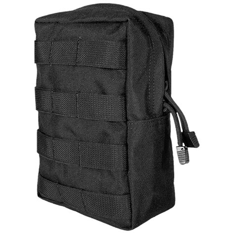 molle system accessories flyye vertical accessories pouch molle black utility