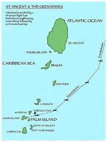 map of palm island florida palm island grenadines map caribbean travel map