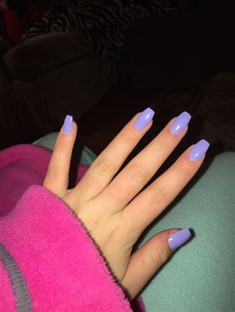 short coffin nails short lavender coffin nails short lavender coffin nails