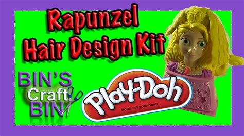play hair style kit disney princess play doh rapunzel hair design style kit by