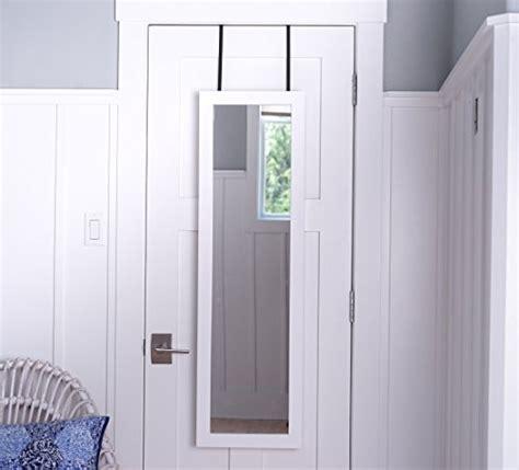 door hanging jewelry armoire white wall mounted full length mirrored door hanging grey