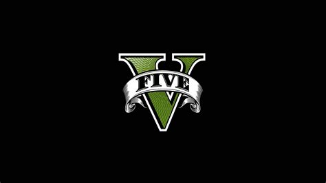 Grand Theft Auto 5 Logo Vector by Gta 5 Five Logo 3840x2160 Wallpaper Best Of All